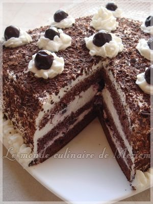 Foret Noire Gateaux Pinterest Patisserie Cake And Sweet Tooth