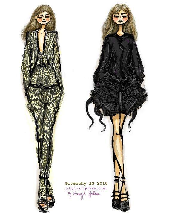 Ganso con estilo >> por Genya Yodko >> Todo lo elegante, Illustrated.