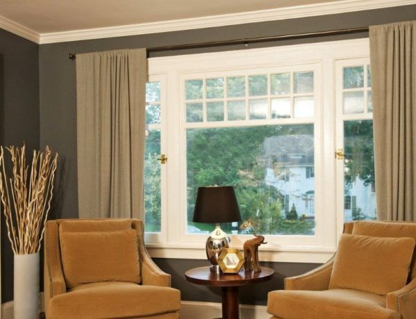 7 Curtain Ideas For The Large Windows At Home With Images