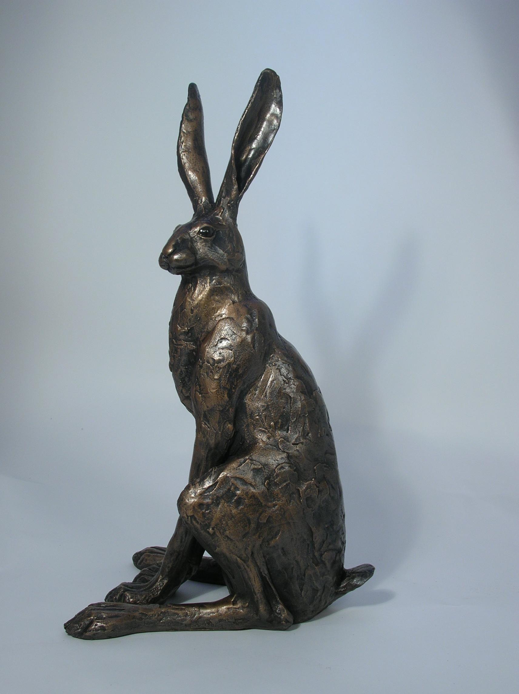 скульптура зайца картинки также широкоугольник даёт