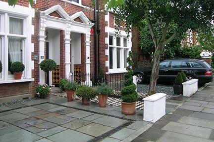Front Garden Parking Design Ideas