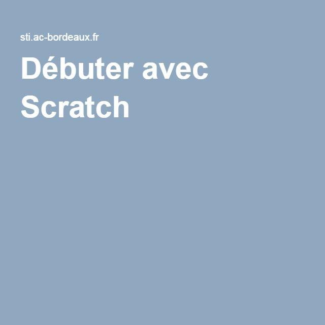 Débuter avec Scratch