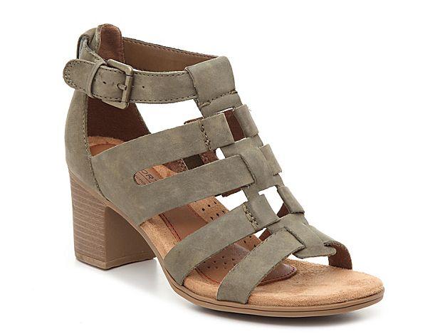 Women Hattie Sandal -Olive Green