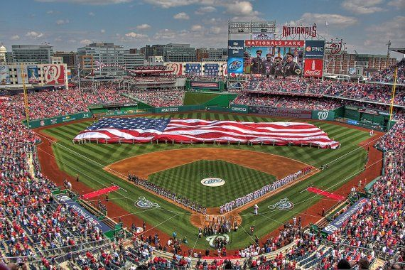Opening Day At Nationals Park Etsy Nationals Park Mlb Stadiums Opening Day