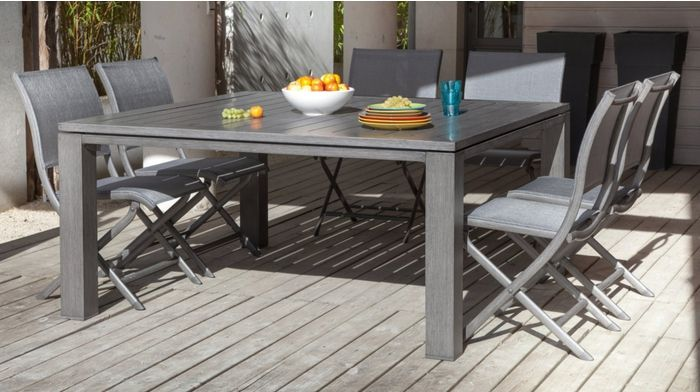 Table Latino 155 Ice - Table - Océo Le jardin inspiré | Mobilier de ...