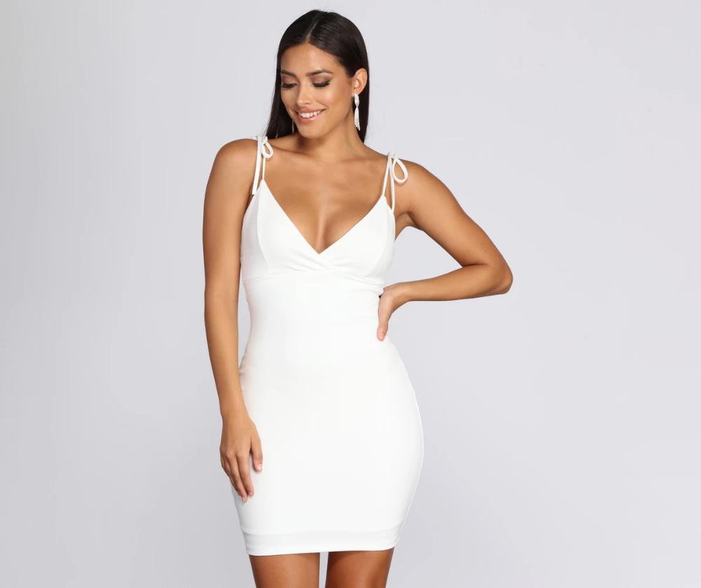 Tied To Style Mini Dress Mini Dress Dresses Short Dresses [ 838 x 1000 Pixel ]