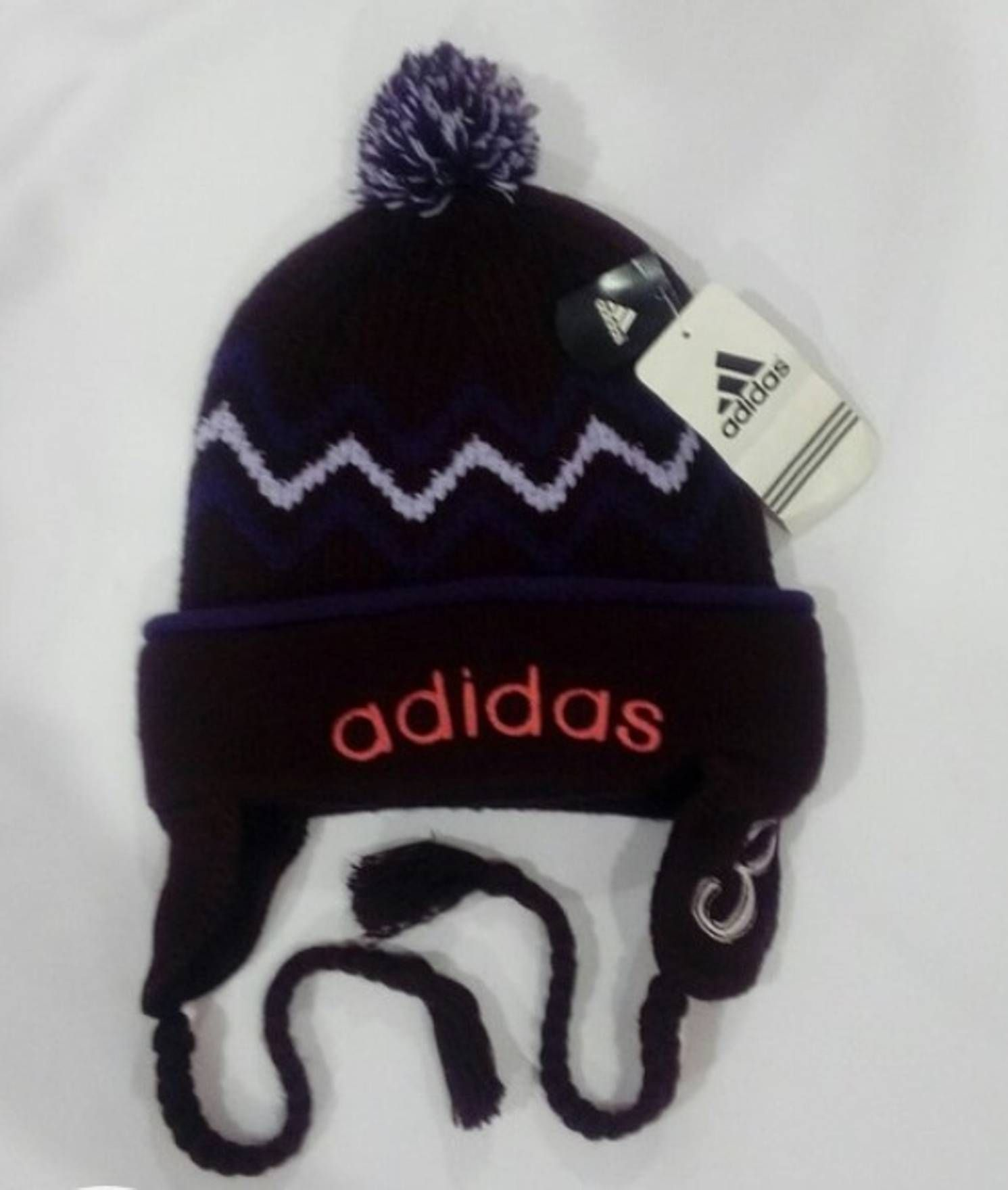 72f2fc1f91a Adidas Vintage adidas hats ear cover deadstock.big logo embroidery..very  good condition
