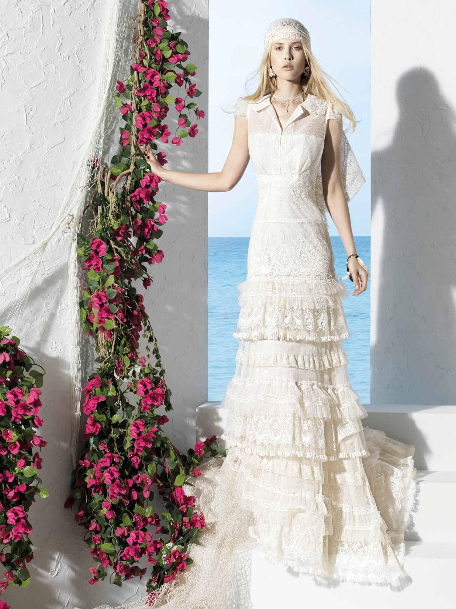 Yolancris boho chic wedding dresses boho girl by yolancris balık