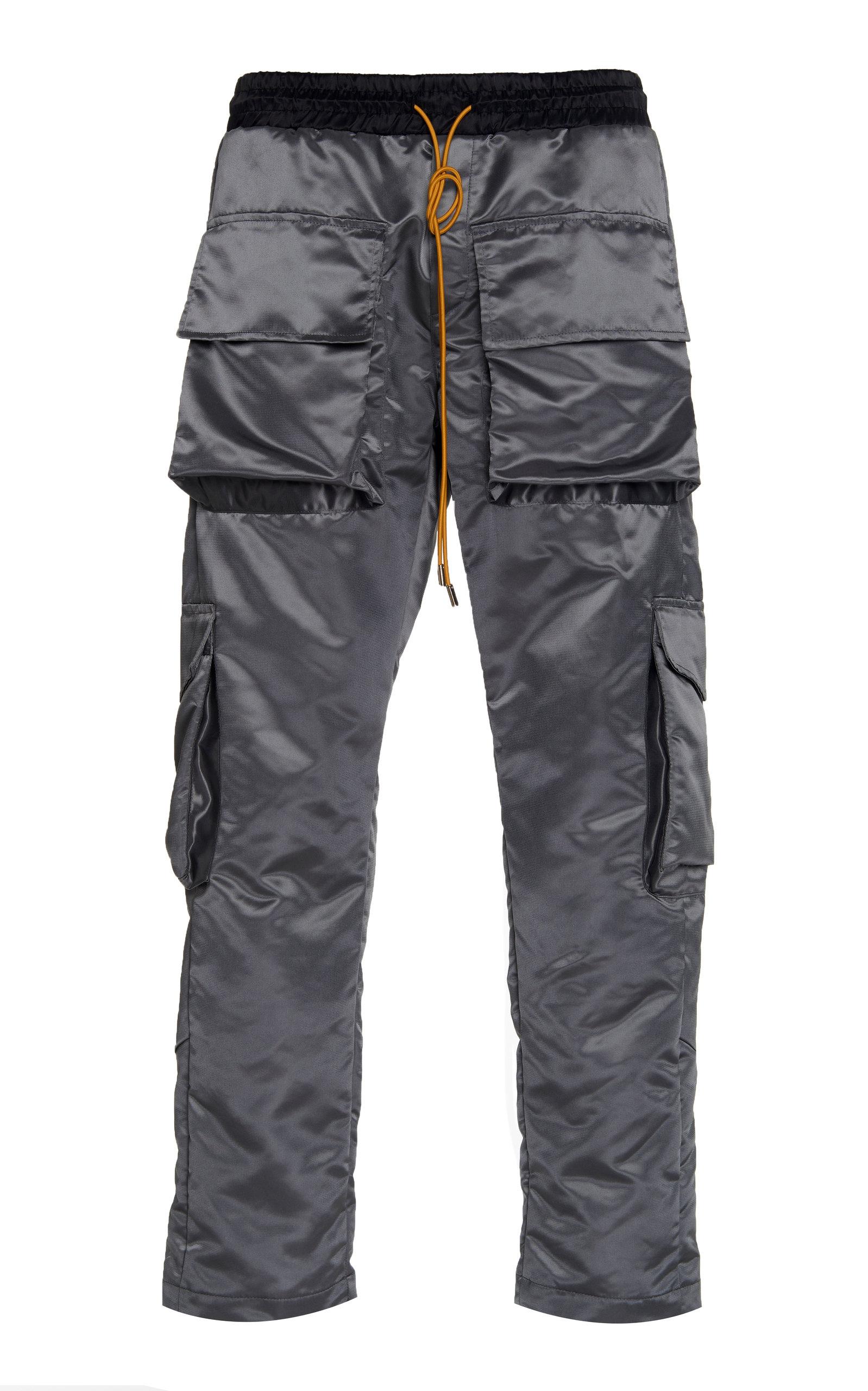RHUDE SATIN CARGO PANTS.  rhude  cloth  20bc61a10694