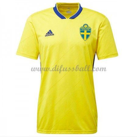 Günstige Fußballtrikots Schweden Trikot nationalmannschaft