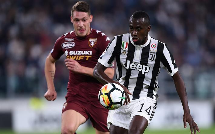 Lataa kuva Blaise Matuidi, Juventus, Italia, Serie, Ranskalainen jalkapalloilija, uusi Juventus logo