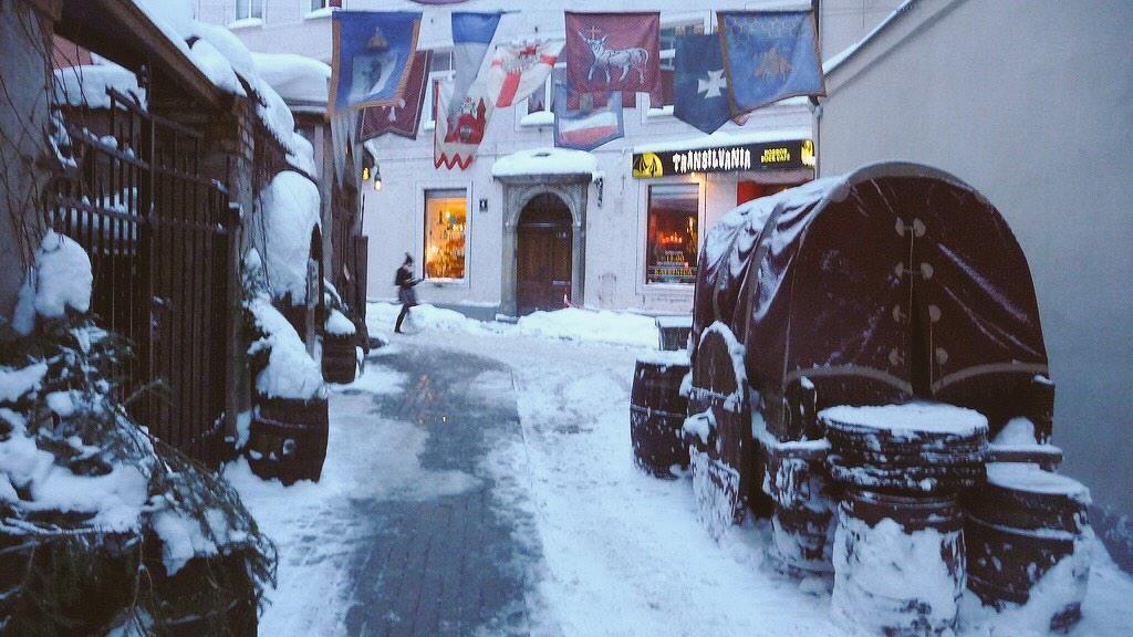 Rīga (Lettonia). Bar Trasilvania.