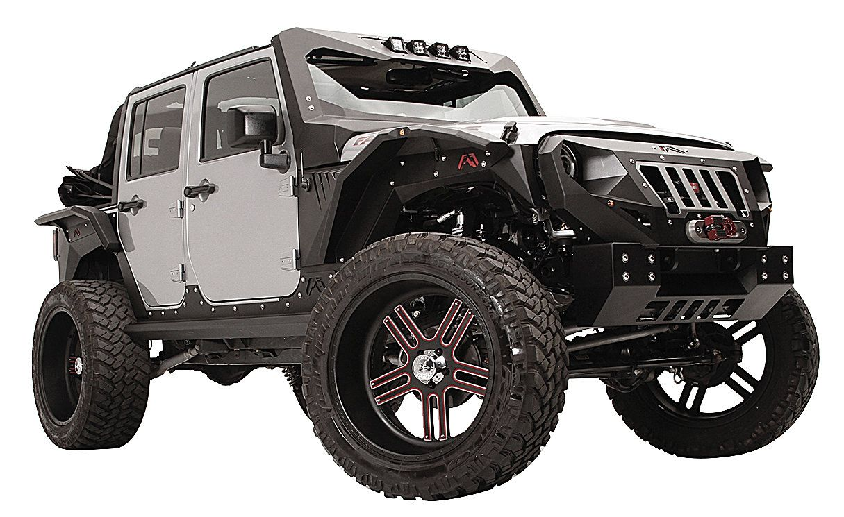 Picture Of A Fab Fours Grumper Style Steel Short Width Front Bull Bar With Grill Jeep Wrangler Front Bumper Jeep Wrangler Best Jeep Wrangler