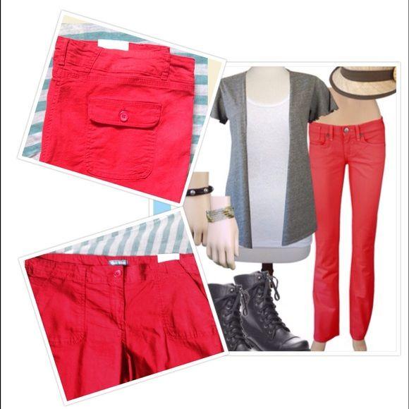 Fleur Bleue Pants - Red jeans  e1e3e2db98f