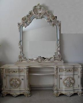 1 200 French Provincial Victorian Classic Makeup Vanity Table
