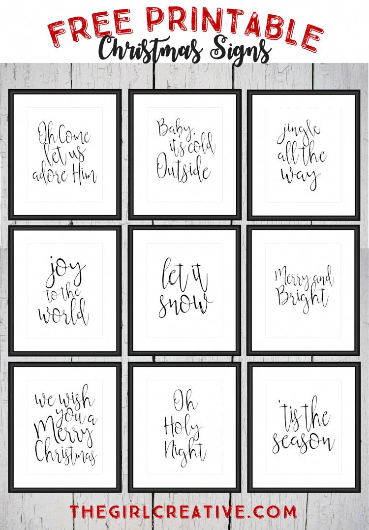 Free Printable Christmas Signs Holiday Word Art Christmasdecorations Free Christmas Printables Holiday Words Christmas Prints