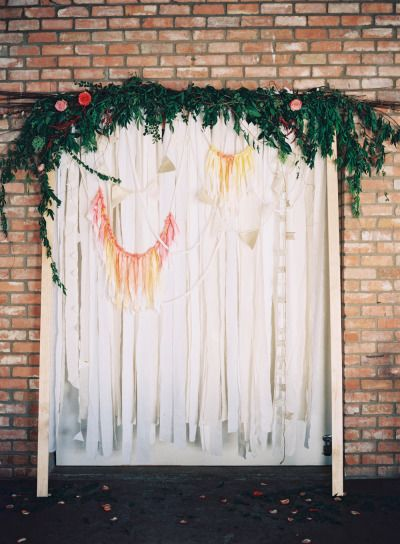 Whimsical wedding ideas: http://www.stylemepretty.com/2015/02/20/minimalist-dallas-loft-wedding/ | Photography: Nicole Berrett - http://www.berrettphotography.com/