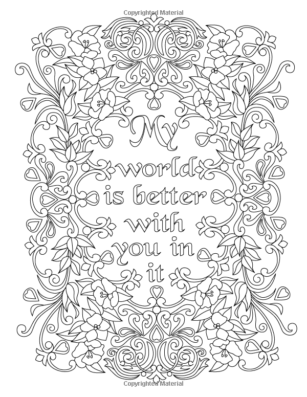 Grief Coloring Pages