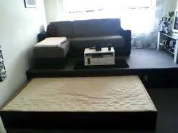 Bildergebnis Fur Bett Versteckt Im Podest Mobel Selbst Bauen