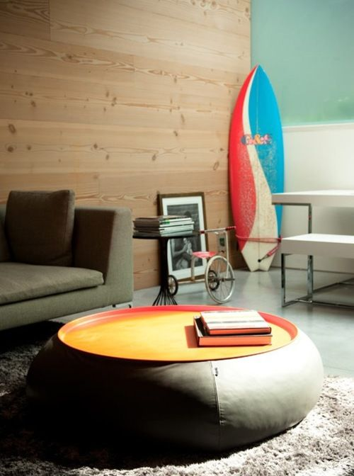 We Love This Surf Inspired Interior With It S Amazing Beanbag