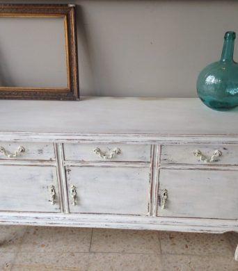 Mueble vintage restaurado recibidores vintage mesas de for Restauracion muebles vintage