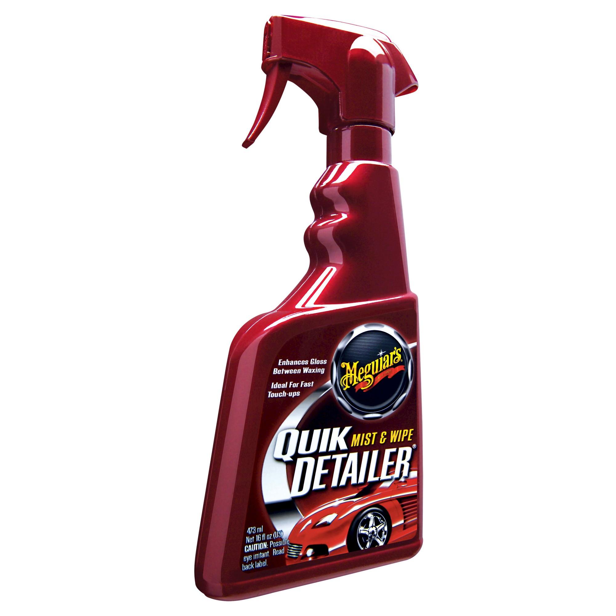 Meguiar S Quik Detailer Cleaner 16 Oz Wax Car Wash Spray Bottle