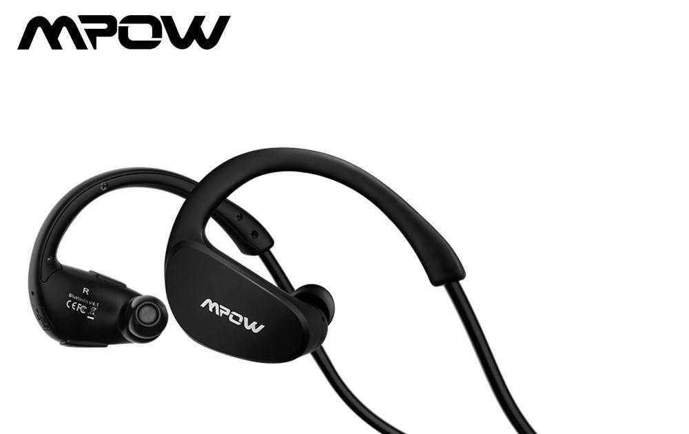 b78b408a70f Mpow Cheetah MBH6 Wireless Bluetooth Headphones Waterproof Wireless  Earphones With Mic AptX Function