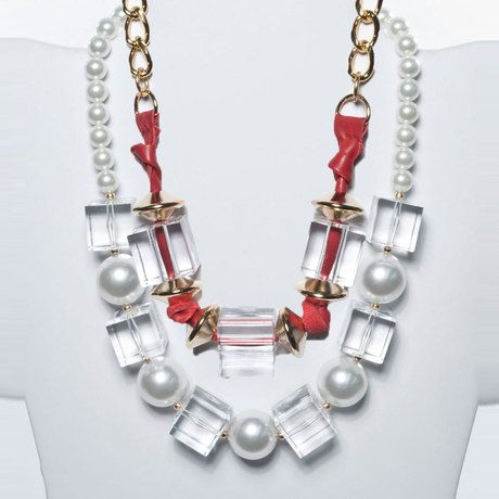 Lucite necklaces