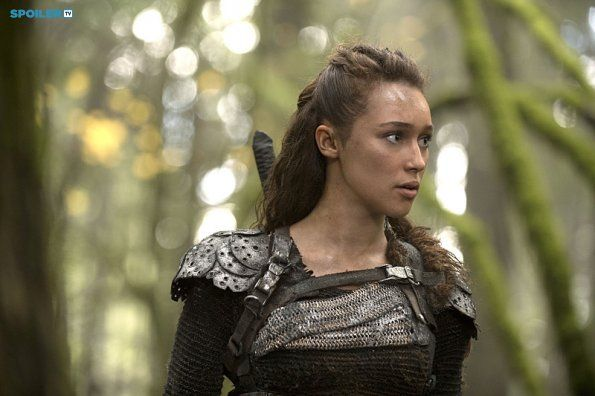 """#The100 2x10 """"Survival of the Fittest"""" - Lexa"""