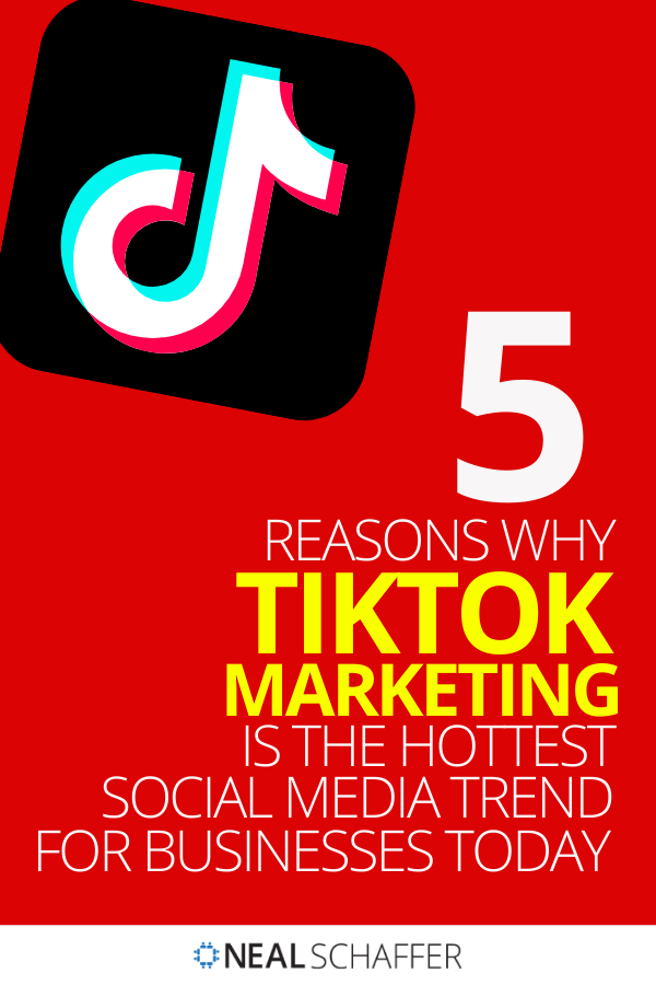 5 Reasons Why Tiktok Marketing Is The Hottest Social Media Trend For Businesses Today Social Media Infographic Social Media Trends Social Business
