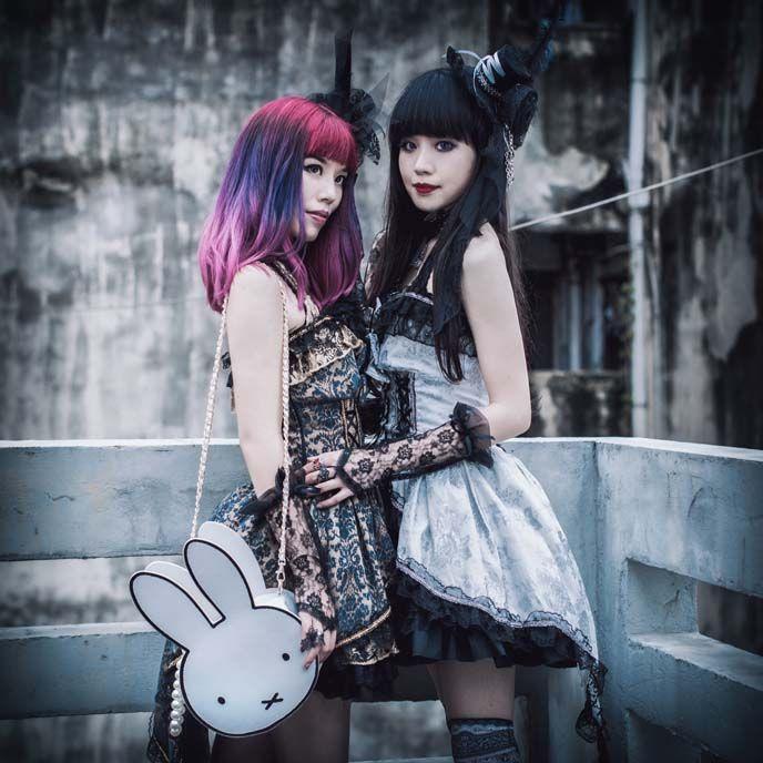 La Carmina and friends did a Chinese gothic lolita fashion