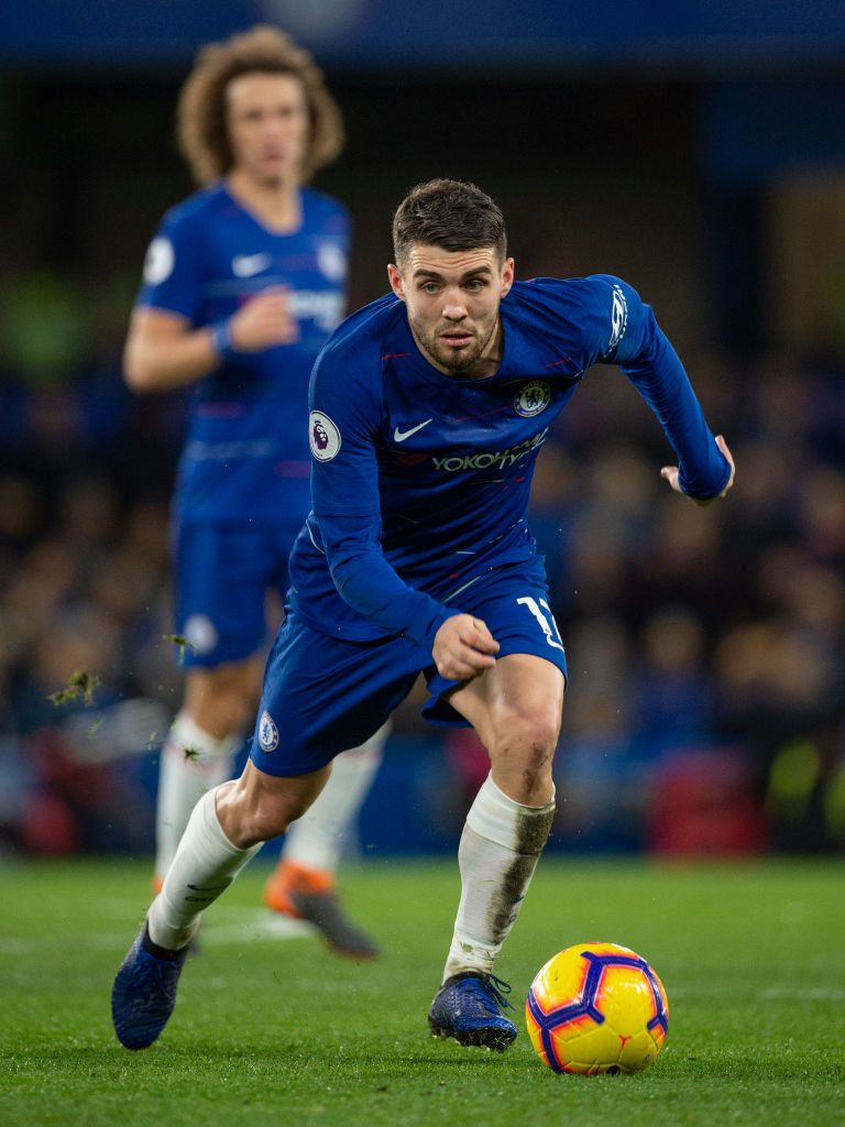 LONDON, ENGLAND - DECEMBER 22: Mateo Kovačić of Chelsea during the Premier League match between Chelsea FC and Leicester City at Stamford Bridge on December 22, 2018 in London, United Kingdom. (Photo by Visionhaus/Getty Images)