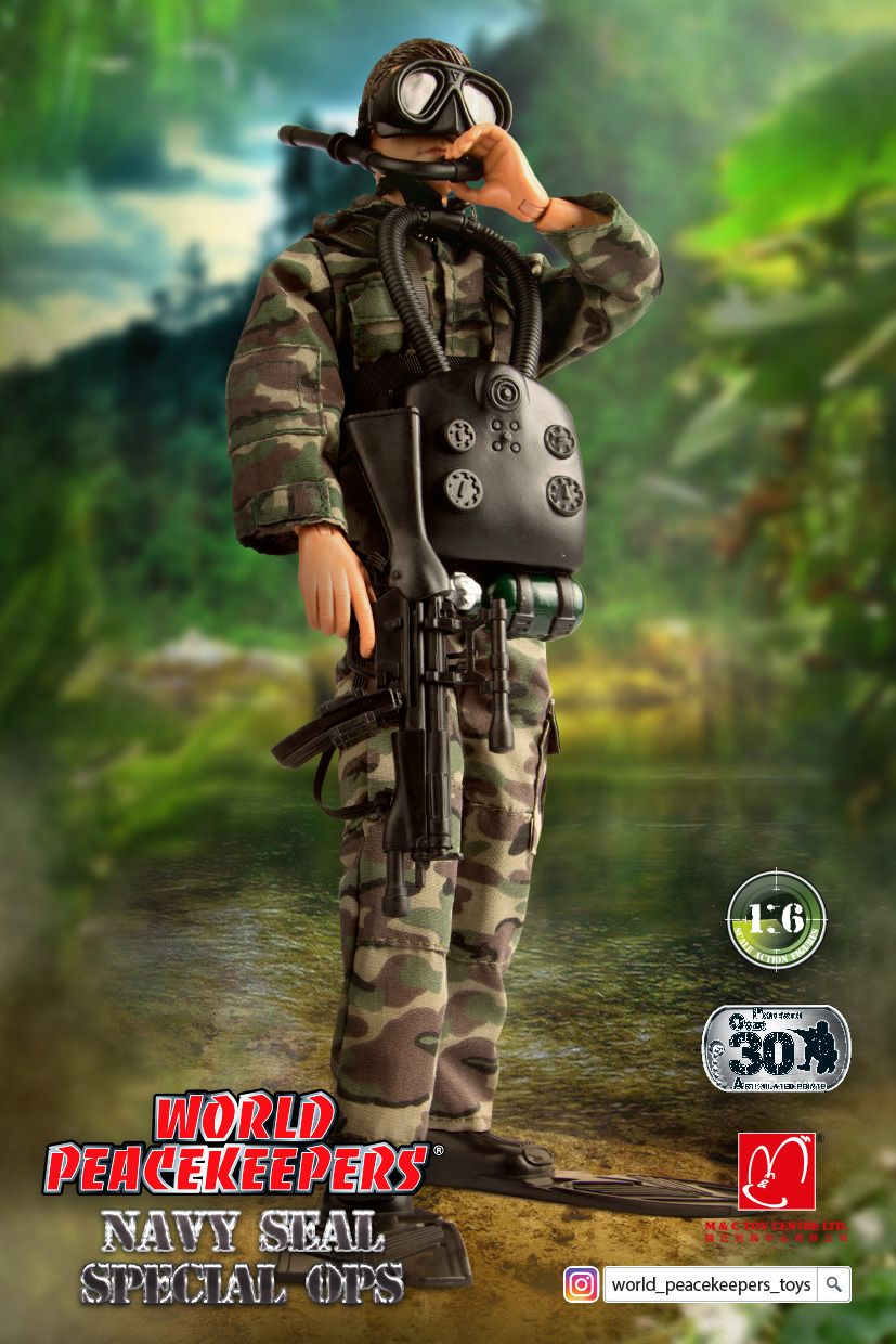 Product Name World Peacekeepers Navy Seal Special Ops 1 Of 12 Assortment Item No 90201 The 1 6 World Peacek Action Figures Hot Toys Action Figures Toys