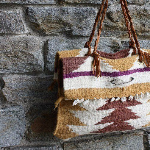 1814c4a03c9 Salvaged Native American Rug Totes from Spool No.72   Bags like mom ...