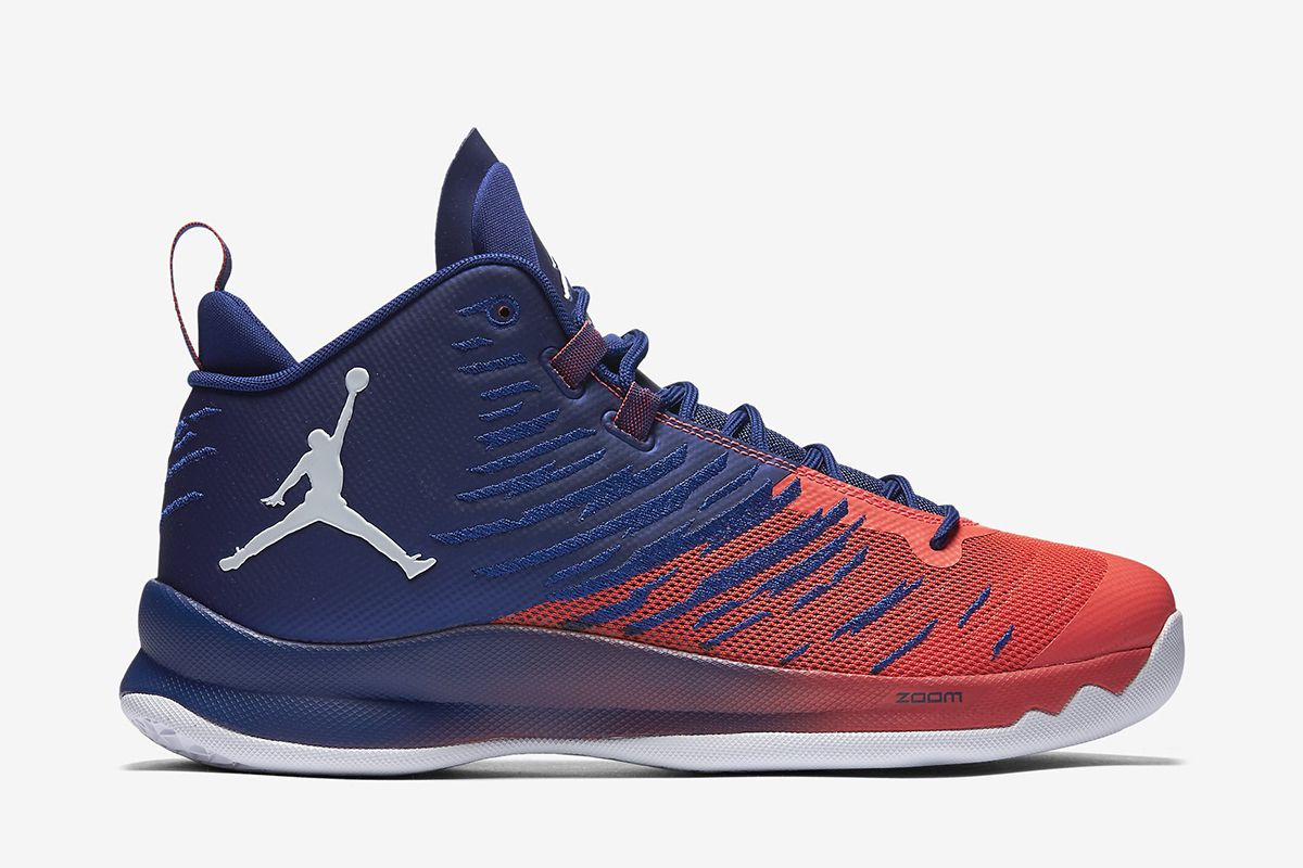a43929a070e6 ... best price jordan super.fly 5 mens basketball shoe deep royal blue  infrared 23 .