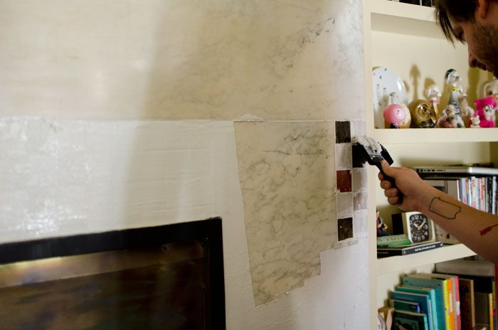 Living Room Fireplace Red How To Remove Paint From Marble The Sweet Beast