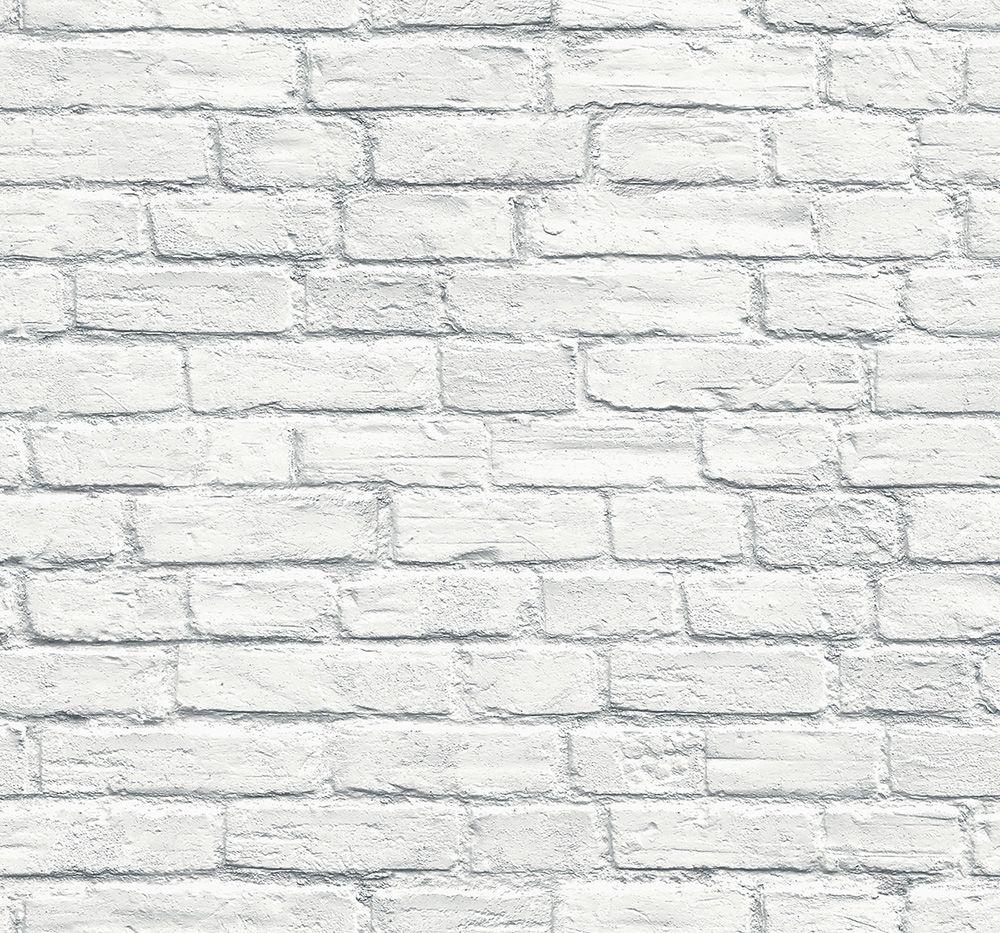 Wallquest 3d White Brick Wall Td31502 The Blooming House6 輸入壁紙専門店 Walpa 白いレンガの壁紙 テクスチャ素材 壁 白いレンガの壁