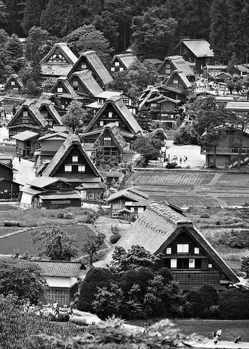 Minka Japanese farmhouses