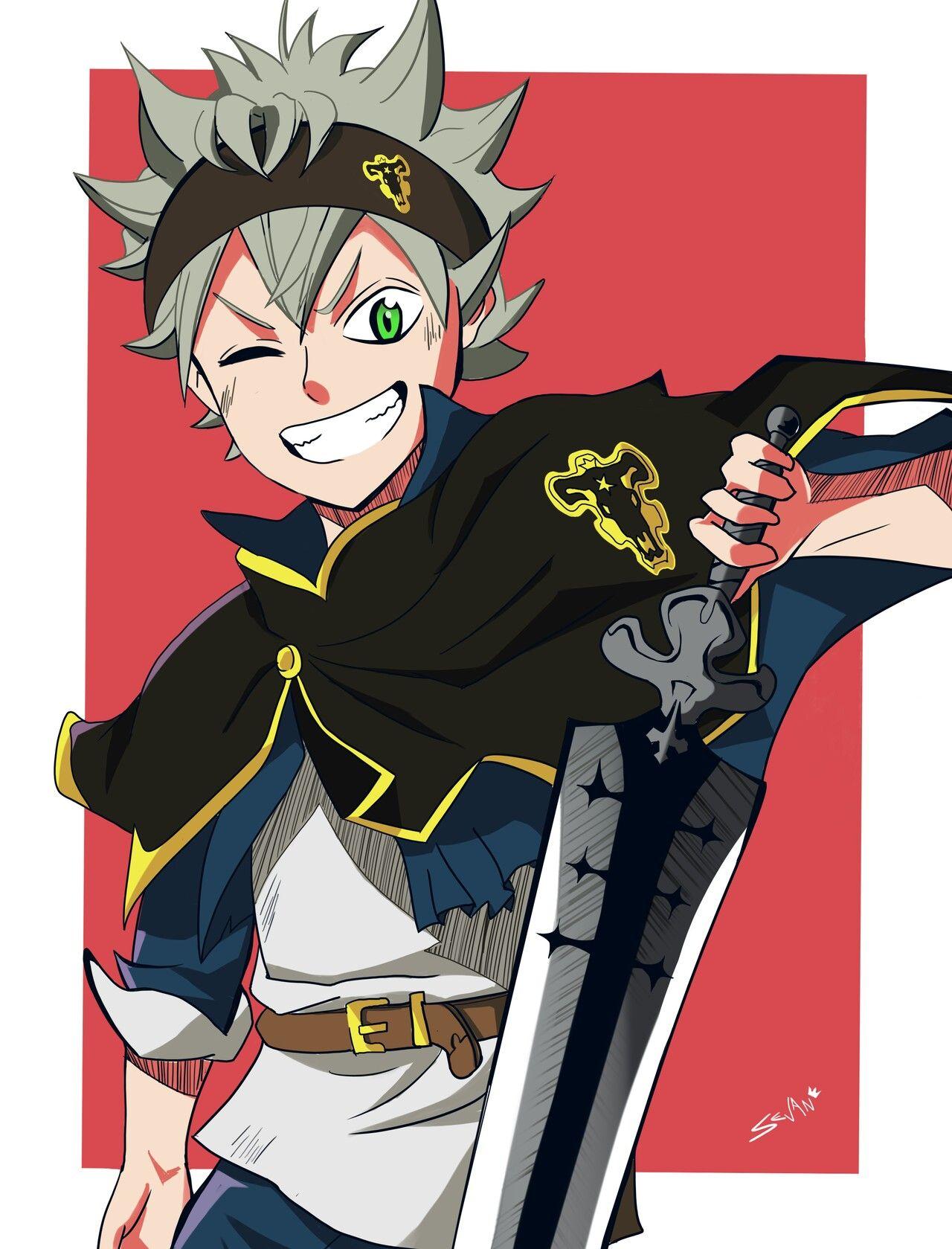 Asta Black Clover Anime Desenhos De Anime Naruto Manga Colorido Ore wa mada, honki o dashite inai. asta black clover anime desenhos