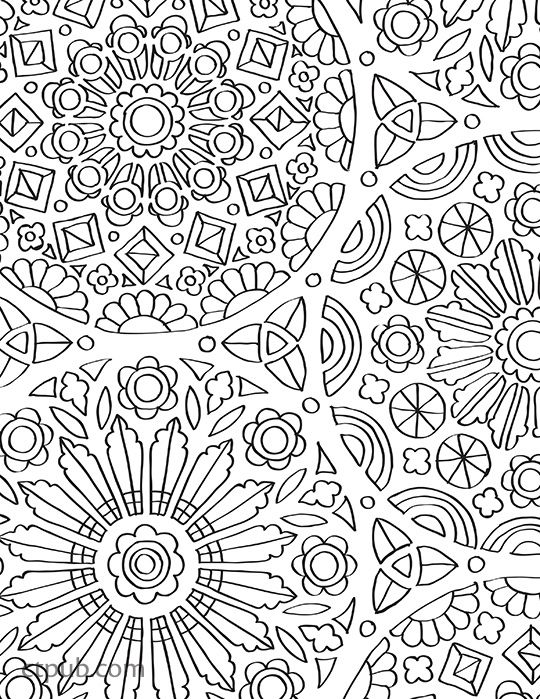 Off The Bookshelf 45 Weirdly Wonderful Designs To Color For Fun Relaxation Illustrated By Samarra Khaja