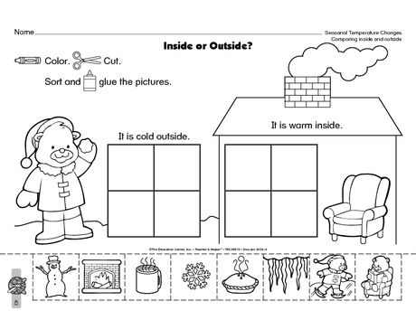 free seasonal worksheet classroom ideas science worksheets weather kindergarten preschool. Black Bedroom Furniture Sets. Home Design Ideas