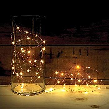 Battery Operated Mini Christmas Lights With Timer