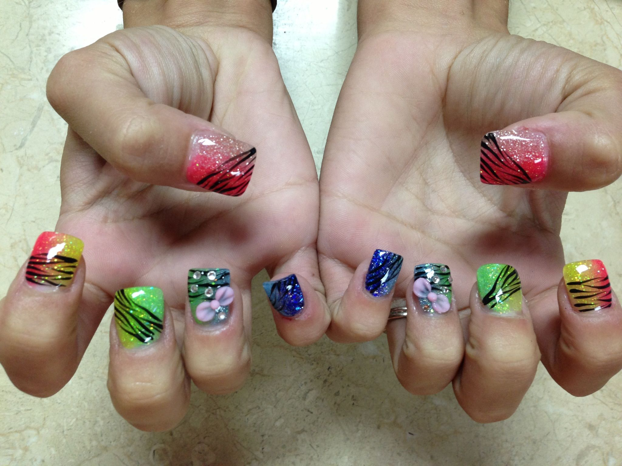 Nails done at New York Style Nails in springdale AR | Nails ...