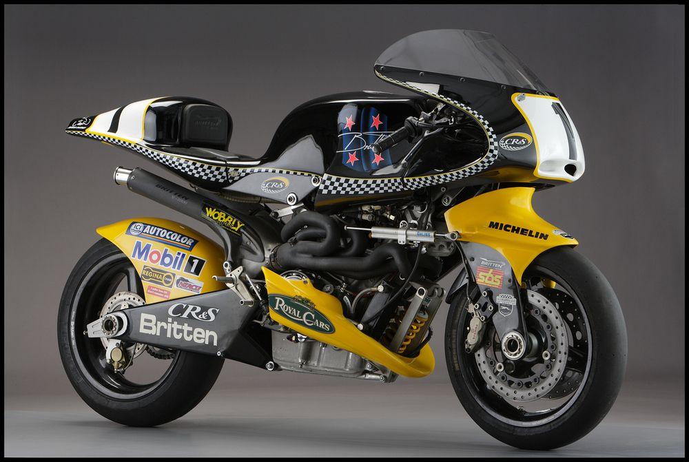Britten V1000 Bike Exif Racing Bikes Motorcycle