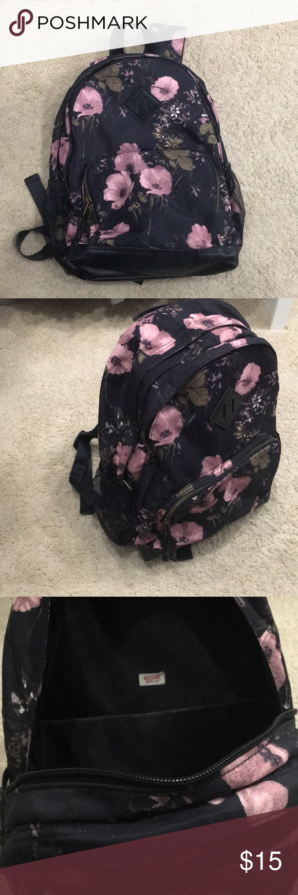 Mission floral backpack In great condition, like new! Mossimo Supply Co. Bags Backpacks