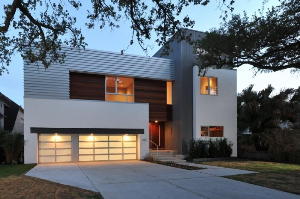Minimalis House home design, laurel residence front minimalist house facade: new