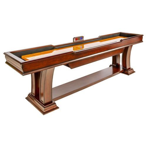 Well Universal 9 5 Ft Shuffleboard Table Sold At Costco Com