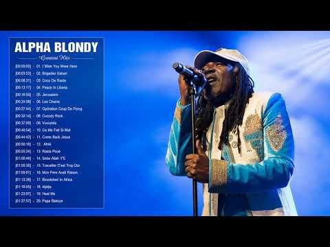Alpha Blondy Greatest Hits Top 30 Best Songs Of Alpha Blondy