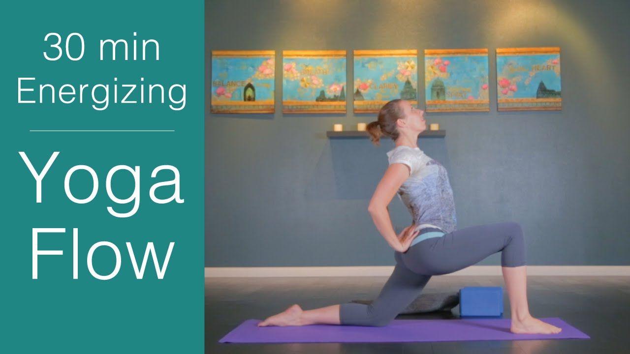 Vinyasa Yoga: 30 minute Energizing Yoga Flow - YouTube