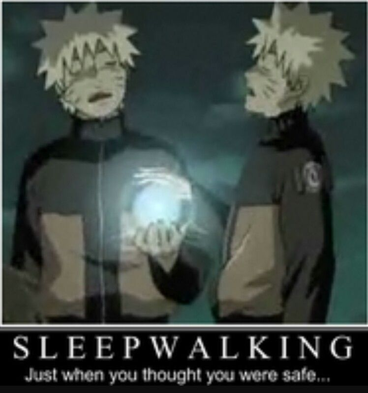 I thought I knew some bad sleep walkers